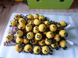 Custom toy: lotto knuffels