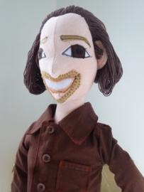 Knuffel op maat: knuffelportret Jared, mini-me pop