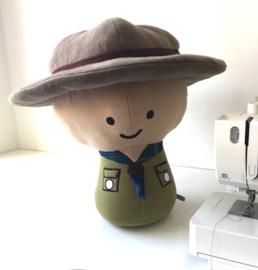 Knuffel op maat: een kleine scout
