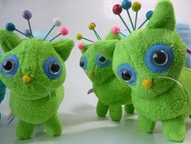 Custom toy: knuffel neko cats