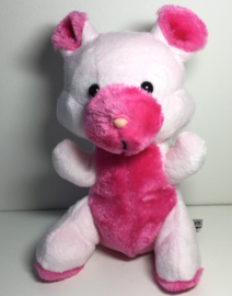 Oud knuffeltje namaken: roze knuffie