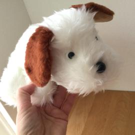Oud knuffeltje namaken: hondje Flappie