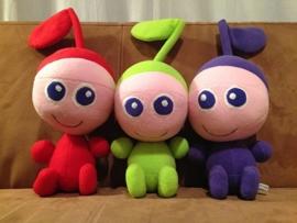 custom toy: poppen voor muziekeducatie