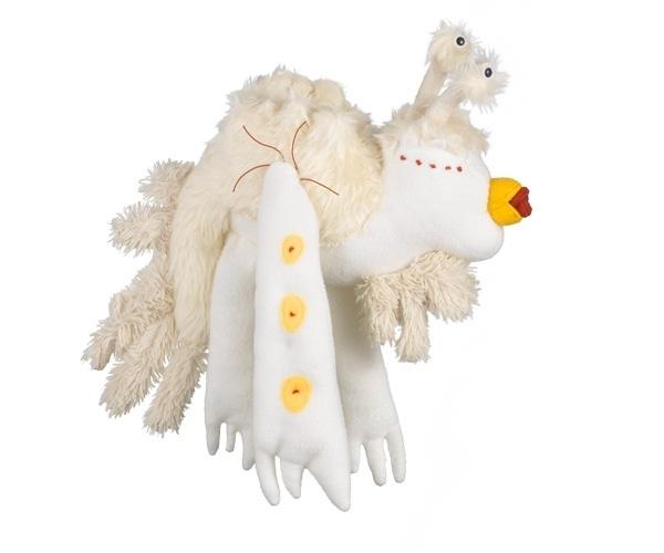 Knuffel van tekening: knuffel vogel Fune Boord