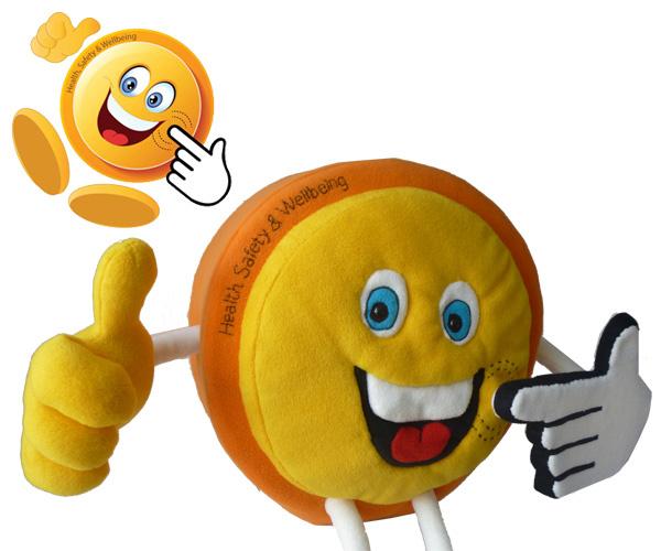 Custom toy: Bob button