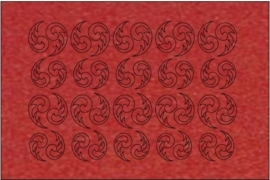 017 metal red