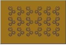 sticker 011 goud