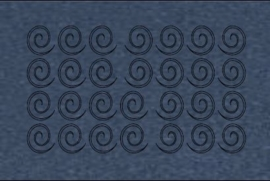 018 metal blue
