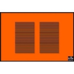 61 donker oranje