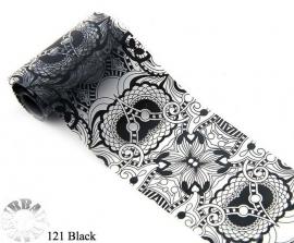 lace folie 121 zwart