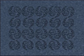 017 metal blue