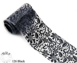 lace folie 126 zwart