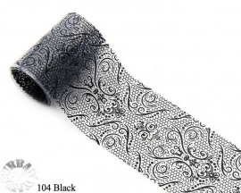 lace folie 104 zwart