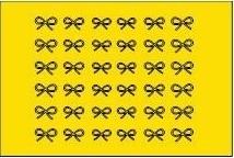 sticker 005 geel