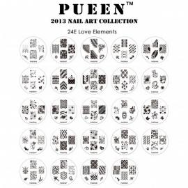 Pueen Nail Plate 24E