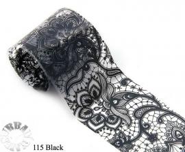 lace folie 115 zwart