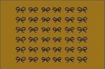 sticker 005 goud