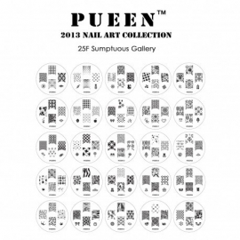 Pueen Nail Plate 25F