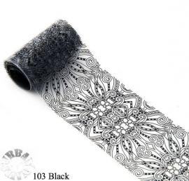 lace folie 103 zwart
