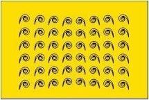 sticker 004 geel