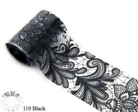 lace folie 110 zwart