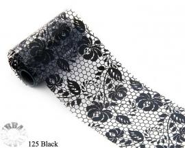 lace folie 125 zwart