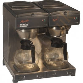 Koffiezetapparaat duo (incl koffiefilters)