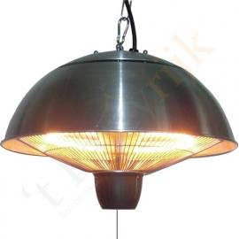 Halogeenverwarming paddestoel (1500 watt hangmodel)