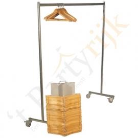 Kledingrek (incl 50 hangers)