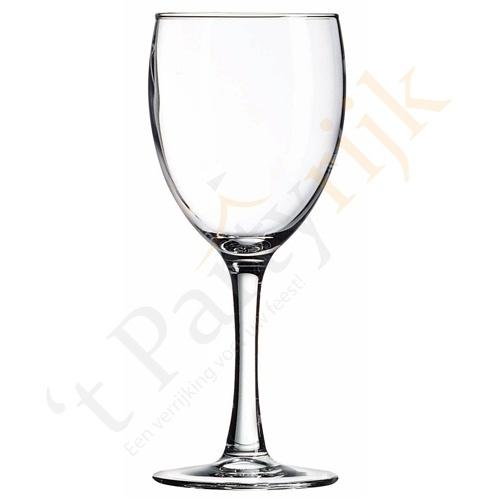 Wijnglazen (per krat van 32 stuks)