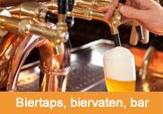 Biertaps, biervaten, bar | 't Partyrijk | Verhuur | Heemskerk, Beverwijk, Castricum, Uitgeest