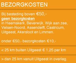 't Partyrijk | Partyverhuur | Bezorgkosten | Heemskerk, Beverwijk, Castricum, Uitgeest