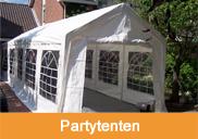 Partytent huren, partytent verhuur | 't Partyrijk | Verhuur | Heemskerk, Beverwijk, Castricum, Uitgeest