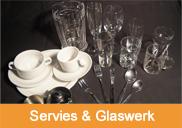 Servies en Glaswerk | 't Partyrijk | Verhuur | Heemskerk, Beverwijk, Castricum, Uitgeest