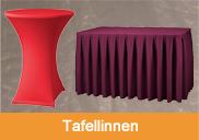 Tafellinnen | 't Partyrijk | Verhuur | Heemskerk, Beverwijk, Castricum, Uitgeest