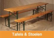 Tafels en stoelen huren | 't Partyrijk | Verhuur | Heemskerk, Beverwijk, Castricum, Uitgeest