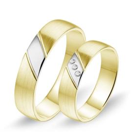 Alliance relatie en trouwringen 605 / 606