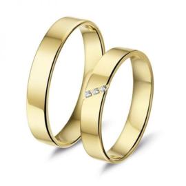 Alliance relatie en trouwringen L340