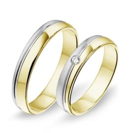 Alliance relatie en trouwringen 1406
