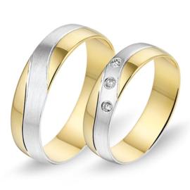 Alliance relatie en trouwringen 488 / 489