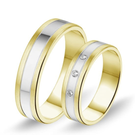 Alliance relatie en trouwringen 601 / 602