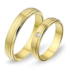 Alliance relatie en trouwringen 1403