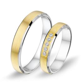 Alliance relatie en trouwringen 1410