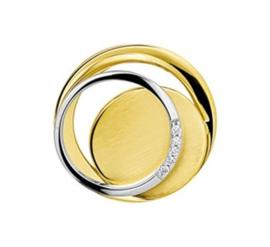 Gouden hanger met diamant 4207420