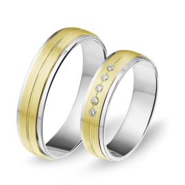 Alliance relatie en trouwringen 1404