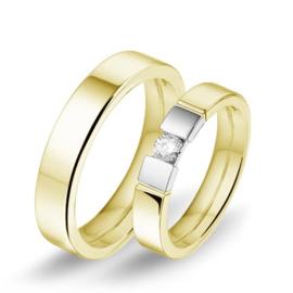 Alliance relatie en trouwringen 609 / 610