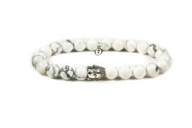 KARMA armband Casablanca Silver Buddha 86119