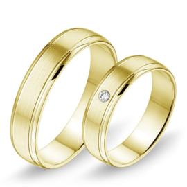 Alliance relatie en trouwringen 368