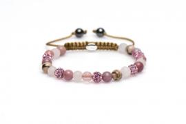 Karma XS armband Spiral Pink Rose 83211