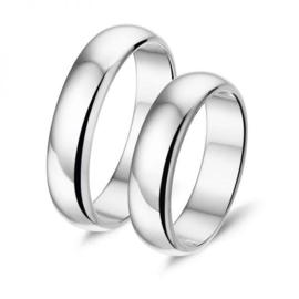 Alliance relatie en trouwringen L250